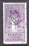 BOLIVIA  C 59  (o)   AERO   MAP - Bolivia