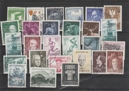 Ex. Jahr 1959 Und 1960 - Schönes Lot Gestempelt - Günstig - 1945-.... 2. Republik