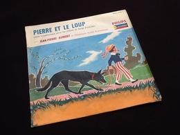 Vinyle 33 Tours (25cm) Pierre Et Le Loup Serge Prokofiev  (1957) - Vinyles