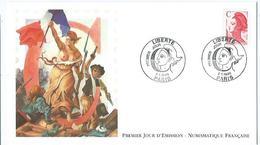 Enveloppe 1er Jour France FDC Liberté 1990 - FDC