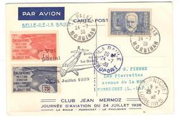 14005 - BELLE ILE  - LA BAULE - Airmail
