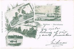 Litho Mariehamn - Aland, 4 Ansichten 1901 - Finlande
