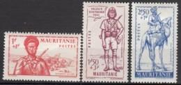 Du N° 116 Au N° 118 - X - ( C 1411 ) - Mauritanie (1906-1944)