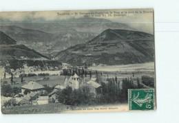 Saint Georges De Commiers - Vue Générale , Le Drac , La Rivoire  - 2 Scans - Other Municipalities