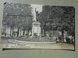 BELGIQUE BRABANT FLAMAND TIRLEMONT THIENEN STATUE DES COMBATTANTS 1830 - Tienen