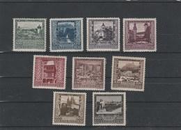 Landeshauptstädte Mi. Nr. 433 - 441 Ungebraucht - 1918-1945 1. Republik