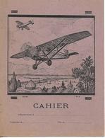 Protège-cahiers Illustrés / Avions, Aéroplanes / Tables De Calcul - Transport