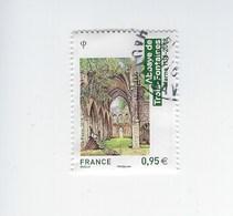 Architecture Religieuse Abbaye De Trois-Fontaines 5242 Oblitéré 2018 - France