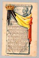 Belgique : Carte Postale : La Brabançonne(?) Paroles Et Musique (PPP17161) - Belgique