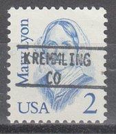 USA Precancel Vorausentwertung Preo, Locals Colorado, Kremling 895 - Vereinigte Staaten