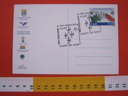 A.08 ITALIA ANNULLO - 2007 ALASSIO SAVONA AIR SHOW MANIFESTAZIONE AEREA SPORT TRICOLORE SPORT - Francobolli