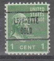 USA Precancel Vorausentwertung Preo, Locals Colorado, Lafayette 723 - Vereinigte Staaten