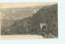 Ligne De La Mure - Sortie Du Tunnel Du Petit Train Des Mines - Dos Simple - TBE - 2 Scans - Other Municipalities
