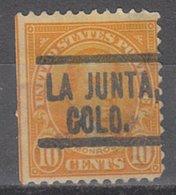 USA Precancel Vorausentwertung Preo, Locals Colorado, La Junta 562-549 - Vereinigte Staaten