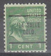 USA Precancel Vorausentwertung Preo, Locals Colorado, La Salle 704 - Vereinigte Staaten