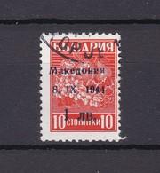 Mazedonien - 1944 - Michel Nr. 1 II - Gest. - 20 Euro - Besetzungen 1938-45