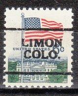 USA Precancel Vorausentwertung Preo, Locals Colorado, Limon 701 - Vereinigte Staaten