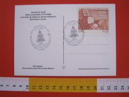 A.08 ITALIA ANNULLO - 2007 ROCCAPIETRA VERCELLI VALSESIA PIEVE SAN MARTINO ALTARE RESTAURATO FESTA PATRONALE SCULTURA - Scultura