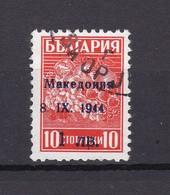 Mazedonien - 1944 - Michel Nr. 1 II - Aufdrucktype - Gest. - 20 Euro - Besetzungen 1938-45