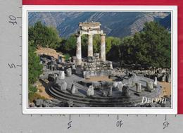 CARTOLINA VG GRECIA - DELPHI - Panorama - 11 X 16 - ANN. 1989 - Grecia