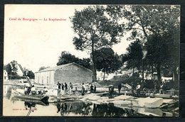 CARTOLINA CV2498 FRANCE CANAL DE BOURGOGNE Le Scaphandrier, Formato Piccolo, Non Viaggiata, Ottime Condizioni - Francia