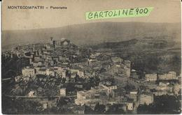 Lazio-roma-montecompatri Panorama Veduta Panorama Monte Compatri Primi 900 (v.retro) - Italia