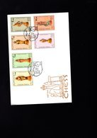 605855530 SOMALIA FDC SCHAAK ECHEC CHESS SHEET  PLAYLING CHESS  1997 - Schaken
