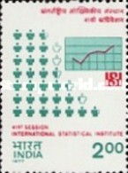 USED STAMPS India - The 41st Session Of International Statis.-  1977 - India