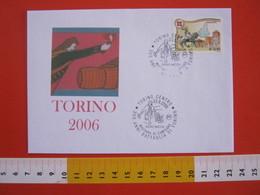 A.08 ITALIA ANNULLO - 2006 TORINO PIETRO MICCA 300 ANNI BATTAGLIA MADONNA DI CAMPAGNA ESPLOSIVO MINA EROE POLVERE SPARO - Storia