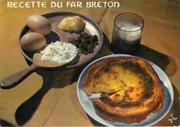 Recettes De Cuisine - Far Breton - Voir Scans Recto-Verso - Ricette Di Cucina