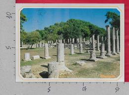 CARTOLINA VG GRECIA - OLIMPIA - La Palestra - 11 X 16 - ANN. 1992 - Grecia