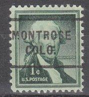 USA Precancel Vorausentwertung Preo, Locals Colorado, Montrose 703 - Vereinigte Staaten