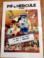 """AFF CINE ORIG  NEUVE """"LES 1000 ET 1 FARCES DE PIF & HERCULE"""" (1992) 40X60CM - Posters"""