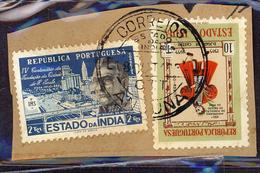 (Free Shipping*) USED STAMP - Inde Portugaise