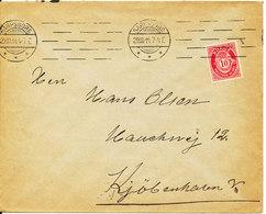 Norway Cover Sent To Denmark Sarpsborg 29-3-1914 - Norway