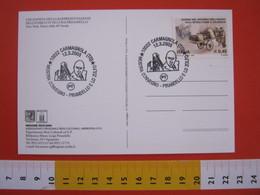 A.08 ITALIA ANNULLO - 2005 CARMAGNOLA TORINO PIRANDELLO E LO ZOLFO SICILIA CONVEGNO SCRITTORE MINIERA LOCANDINA TEATRO - Minerali