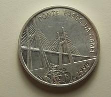 Portugal 500 Escudos Ponte Vasco Da Gama Silver - Portugal