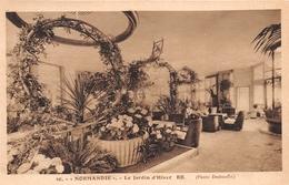 """¤¤   -  Carte De L'Intérieur Du Paquebot """" NORMANDIE """" -  Le Jardin D'Hiver  -  ¤¤ - Paquebots"""