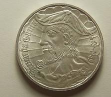 Portugal 50 Escudos Vasco Da Gama Silver - Portugal