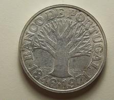 Portugal 50 Escudos Banco De Portugal Silver - Portugal