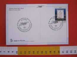 A.08 ITALIA ANNULLO - 2004 BIELLA ACQUA RICCHEZZA NATURALE H2O 25 ANNI CONSORZIO CORDAR - Protezione Dell'Ambiente & Clima