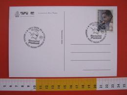 A.08 ITALIA ANNULLO - 2004 OROPA BIELLA CICLISMO PROVINCIA MEMORIAL MARCO PANTANI IL PIRATA CAMPIONE GIRO - Ciclismo