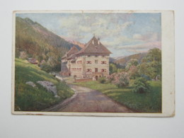 BLÜHNBACH, Schöne Karte  Um 1920 , Randkerbe - Österreich