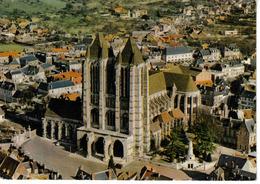 60 NOYON Vue Aérienne Avec La Cathédrale En 1977 - Noyon