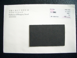 South Korea, Circulated Letter From South Korea To Hungary, 2017, Seoul - Other