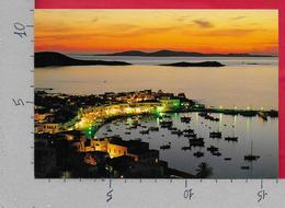 CARTOLINA NV GRECIA - MYKONOS - Tramonto Sul Porto - 11 X 16 - Grecia