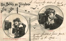 NOS BEBES AU TELEPHONE - Bergeret