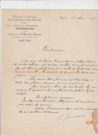 Huy - Federation Catholique - Huy Waremme - 1912 - Manuscrits