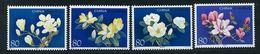 Chine ** N° 4249 à 4252 - Fleurs : Magnolias - Unused Stamps