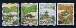Chine ** N° 4228 à 4231 - Architecture. Pavillons - Unused Stamps